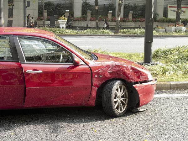 交通事故に遭ってしまったときは